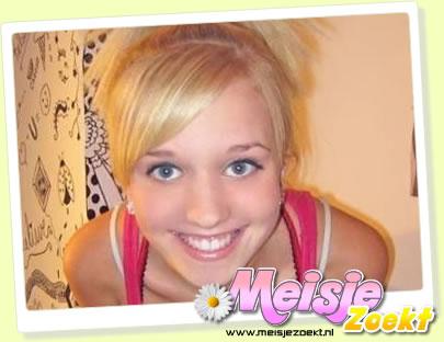 Melissa (18) houd van lachen en plezier maken en een serieus gesprek.